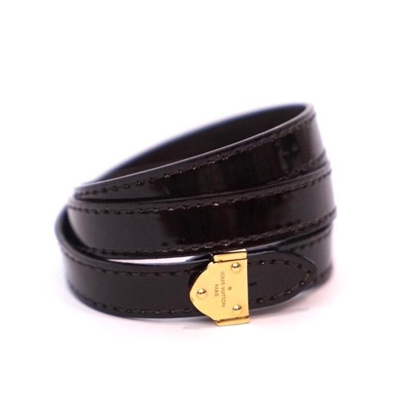 Louis Vuitton Jewelry Box It Wrap Patent Bracelet Poshmark